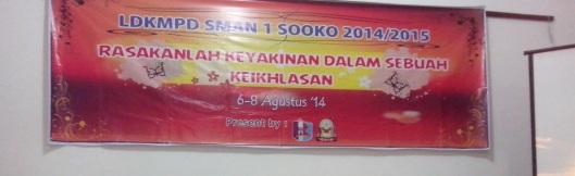 SMAN 1 Sooko Mojokerto (SOOKO) Student's Leadership Training