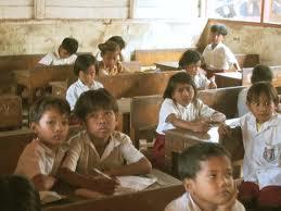 Ilustrasi Sekolah di Remote Area